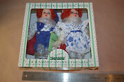 Porcelain Doll Seymour Mann Brother And Sister Clowns 1559