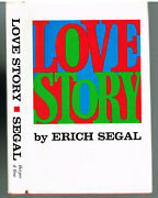 Love Story By Erich Segal 1970 1st Ed. Vintage Book