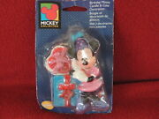 Vintage Wilton Mickey Unlimited Kids Birthday Minnie Mouse Cake Candle