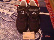 New York Yankees Mariano Rivera Signed Last To Wear 42 Nike Cleats Steiner 2/42