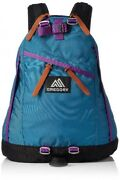 Gregory 651696633 Backpack Blue Grass / Purple Fast Shipping From Japan Ems