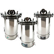 18/24l Steam Autoclave Sterilizers Stainless Steel Dental Medical Lab Equipment