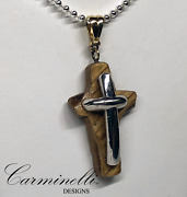 The Way Of The Cross Collection Silver And Wood Carminelli Designs Custom Made