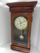 Stunning New England Clock Co. 3-chime Wall Clock - Limited Edition Wk Sessions