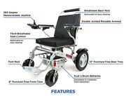 2021 D09s New Airline Approved Lightweight Folding Electric Power Wheelchair