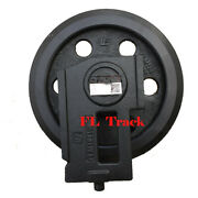 New Fit For Bobcat T300h Mini Excavator Undercarriage Front Idler Parts