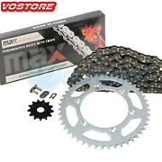 Black Non O-ring Chain Sprocket For 2001-2004 2002 2003 Yamaha Yz250 Yz 250