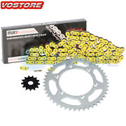 Yellow Non O-ring Chain Sprocket For 2001-2004 2002 2003 Yamaha Yz250 Yz 250