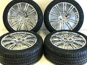 20 Inch New Wheels And Tires Package Fit Porch Cayenne Style 5x120m Trp Chrome
