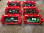 Lot Of 25 Nascar 1994 Edition 124 Die-cast Stock Cars Racing Champions And Bank