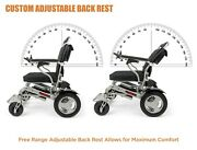 2021 Ranger Reclining Lightweight Foldable Airline Approved Power Wheelchair