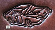 Discontinued 1997 Craftool Co. Usa Nascar Race Car 1 Leather Stamp Tool 8518