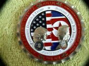 President Trump And Kim Jong-un Official White House Korea Coinsold Out