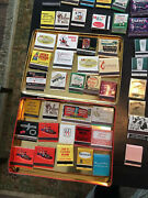 Vintage Matchbook Collection From The 50's Thru 80's Pristine Condition