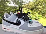 Nike Air Force 1 Nearly New Vintage Basketball Wolf Low Boys Girl Shoes Sz 6.5 Y