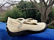 Lands End Ballet Flats Mules Loafers Mary Janes Leather Shoes Womens Sz 8 👠