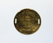Automobile Club Of Southern California Playground Safety Patrol Badges Aaa Early