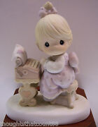 Precious Moments You Are The Type... 523542 Nib 1991 Free Usa Shipping