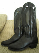 Vintage Capriola Cowboy Boots - By World Famous Saddle Maker To The Stars Sz 11