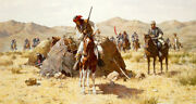 Howard Terpning Second Geronimo Campaign Giclee Canvas Artist Proof A/p11/25