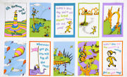 Robert Kaufman Oh The Places You'll Go Book/quilt Fabric Panel Rainbow