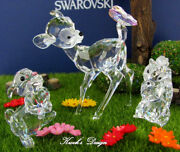 Crystal Figurine Disney Bambi And Friends Set With Boxes/coas/tree Dp.