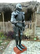 Plate Armor Larp Halloween Costume Collectible Medieval Full Suit Of Armour Sca