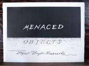 Edward Gorey / Menaced Objects Series Dogear Wryde Postcards First Edition 1989