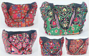5 Pc Assorted Handbags Vintage Wholesale Bags Tote Shopping Purse Lot