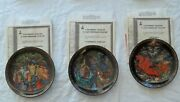 Bradford Exchange Tianex Russian Legends 12-plate Set Sold As Set Only