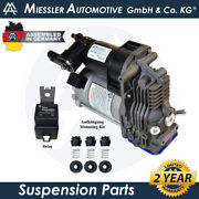 New Air Suspension Compressor And Relay 1052111100 For Nissan Nv400 2011-2018