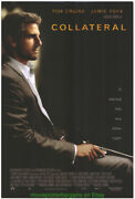 Collateral Movie Poster Original Ds 27x40 Rolled One Sheet Tom Cruise 2004
