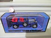 Matchbox Models Of Yesteryear Ext. Rare 1914 Henry Vauxhall Red Seats Nib