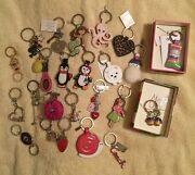 Coach New Key Chain Fob Keychain Keyring Many Rare And Hard To Find Styles
