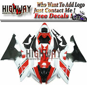 Injection Motorcycle Abs Fairings Body Work Kits Set Fit Yamaha Yzf R6 08-15