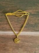Boy Scout Tie Clasp From 50's Anchor, Wings, And Compass. Vintage.