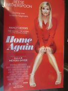 Home Again Movie Poster 11 X 17 Reese Witherspoon Nancy Meyer Brand New