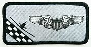 Usaf 12th Fts Flying Training Squadron Nametag Patch