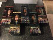 Complete Set Of Nsync 2001 Collectible Bobble Head Dolls 5 Total Free Shipping