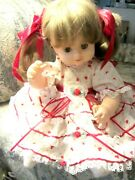 Robin Woods 1990 Valentineand039s Day Doll Signed 1996