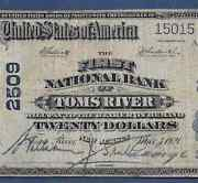 Nj 1902 20 ♚♚ Toms Rivernew Jersey ♚♚ Pcgs Fine 15 Hard To Find