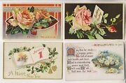 31 Vintage Postcards - New Years - Best Wishes - Birthday - Christmas