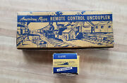 American Flyer 706 Remote Control Uncoupler With Controller And Both A.f.boxes