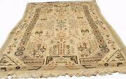 An Antique Village Tribal Moroccan Rug 13and039 4 X 9and039 3 Ft