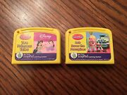 Leapfrog Lot Of 2 My First Leappad Learning System Preschool Reading Cartridges