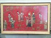 Super Rare Antique Chinese Silk Embroidery Xian Feng Period Fine Work