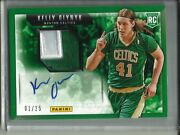 Kelly Olynyk 13/14 Panini Autograph Game Used Jersey Patch Rookie 01/25