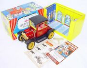 Schuco Germany Ford T Coupe 1917 Oldtimer Toy Museum Edition `88 Tin Toy Car Mib
