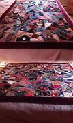 Fully Lined 1885 Silk Velvet Victorian Crazy Quilt...free Shipping