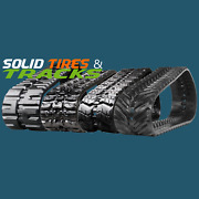 2 Skid Steer/ctl Tracks 18 450x86x56 For Volvo Mct110cmct125cmct135c Mct145c